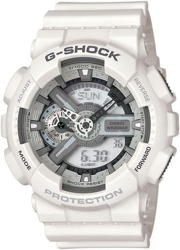 I have 2 G-shock I wear as my daily watches but neither look like this.   G-Shock GA110C-7A watch
