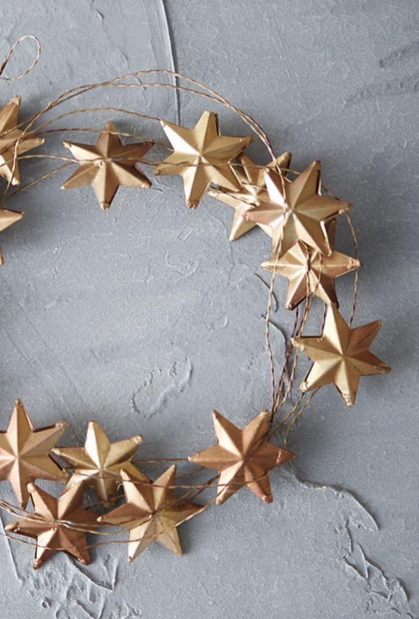 Winter Stars Garland