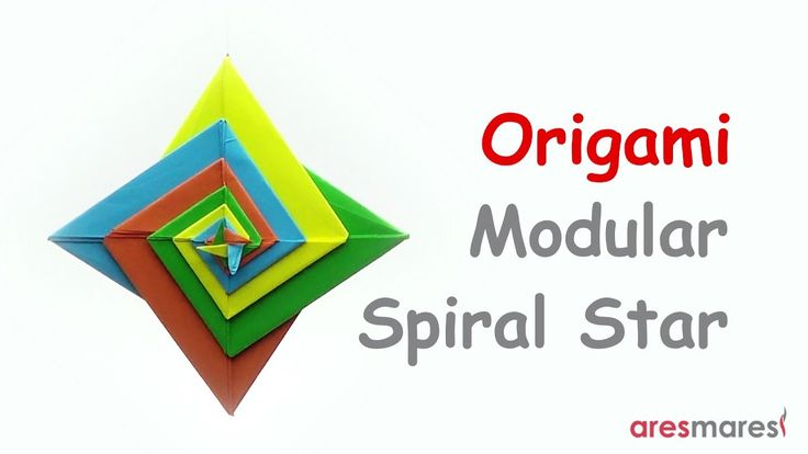 Origami Spiral Star (easy - modular) Life is really simple, but we insist on making it complicated. #origami #unitorigami #howtomake #handmade #colorful #origamiart #diy #doityourself #paper #papercraft #handcraft #paperfolding #paperfold #paperart #papiroflexia #origamifolding #instaorigami #interior #instapaper #craft #crafts #creative #hobby #оригами #折り紙 #ユニット折り紙 #ハンドメイド #カラフル #종이접기 #اوريغامي