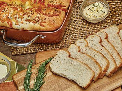 Rosemary Garlic Bread Recipes