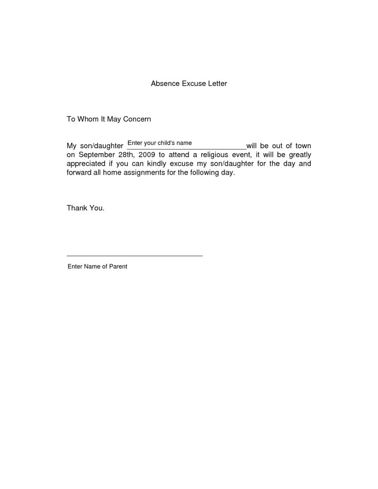 letter absence school due illness top 25 best letter for resignation ideas on 22709 | 3425b6b27027976e2bca09512551593b