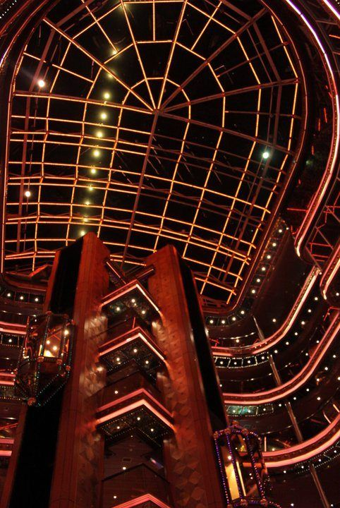 Inside Carnival Elation. I have pictures exactly like this! :)