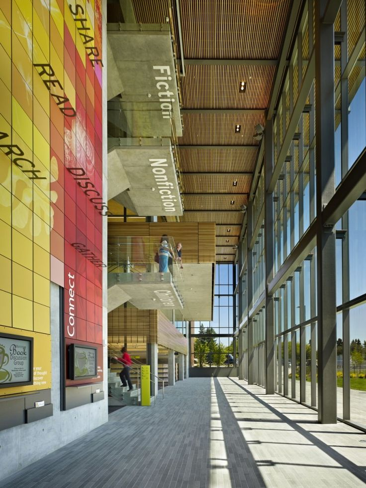 The new Vancouver Community Library in Vancouver, Washington, designed by The Miller Hull Partnership