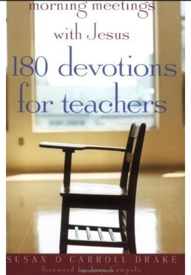 """180 Devotions for Teachers"""