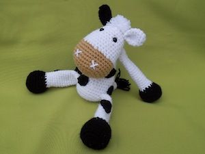 Amigurumi Patterns Cow : Best cow crochet patterns images animal patterns