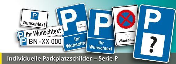 Indiv. Parkplatzschilder P - die Schilder-Fieseler & Paulzen GmbH, in zahlreichen Größen und Ausführungen erhältlich. Informieren Sie sich.