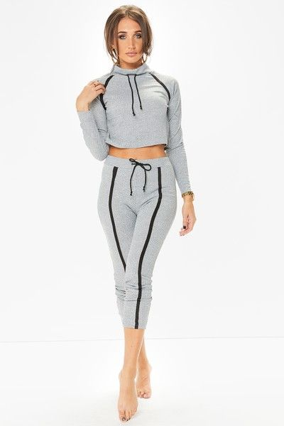 Megan McKenna Grey Loungewear Set