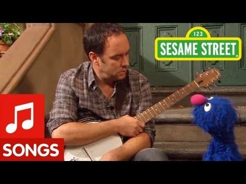 Sesame Street: Dave Matthews and Grover Sing about Feelings - YouTube