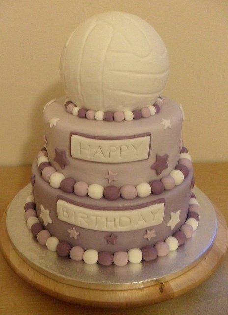 Netball Cake. by Bubba's Bakery, via Flickr