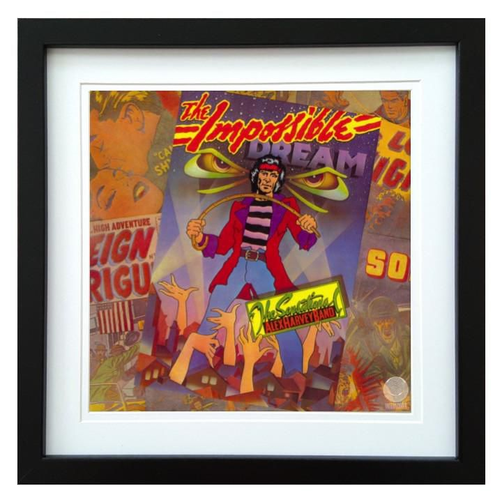 Sensational Alex Harvey Band | The Impossible Dream Album | ArtRockStore