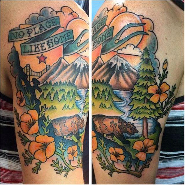 103 Best California Tattoos Images On Pinterest