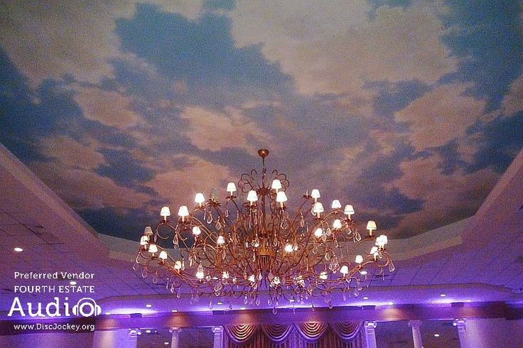 Meridian Banquets boasts four giant ballrooms with dramatic high ceilings, elegant appointments, beautiful chandeliers and solid granite dance floors. http://www.discjockey.org/meridian-banquet-and-conference-center/