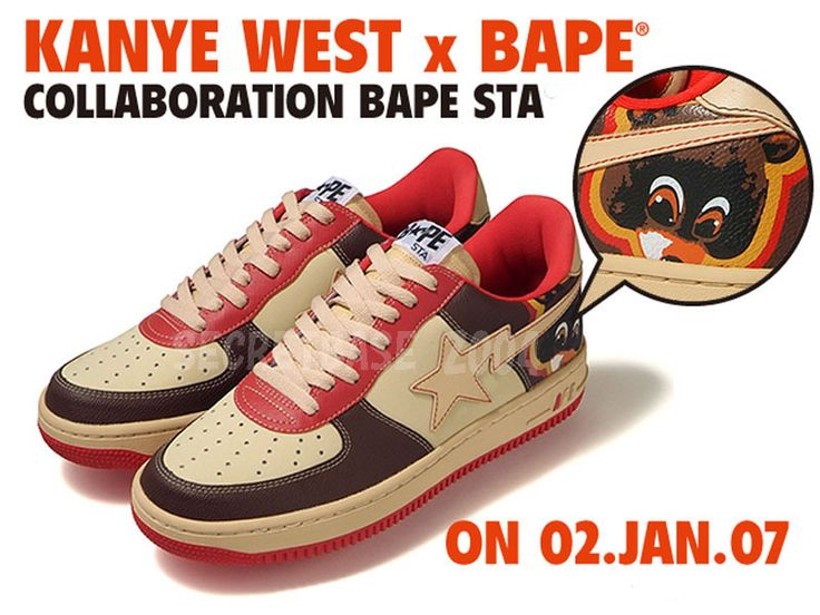 d399d776dfa0 UncategorizedFootwear Kanye West x Bape Sta Shoes Release Date Nice Kicks  ...