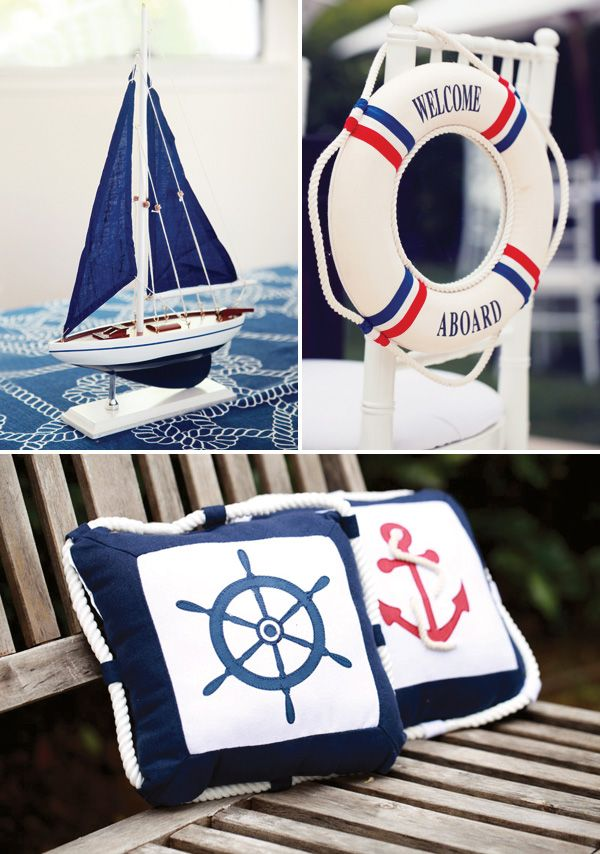 nautical party decorations rustic elegant nautical baby shower hostess with the mostess - Nautical Party Decorations