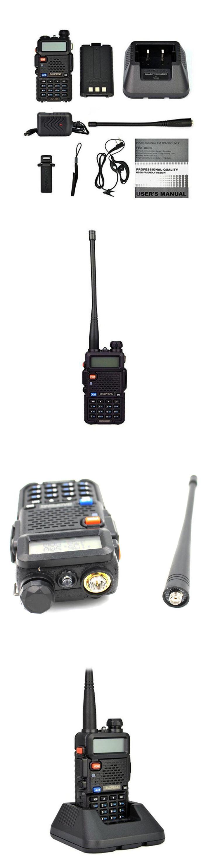 Ship from US/RU/CN! Baofeng UV-5R 136-174/400-520 MHz Walkie Talkie 5W UHF&VHF Dual Band Portable Ham Radio uv5r
