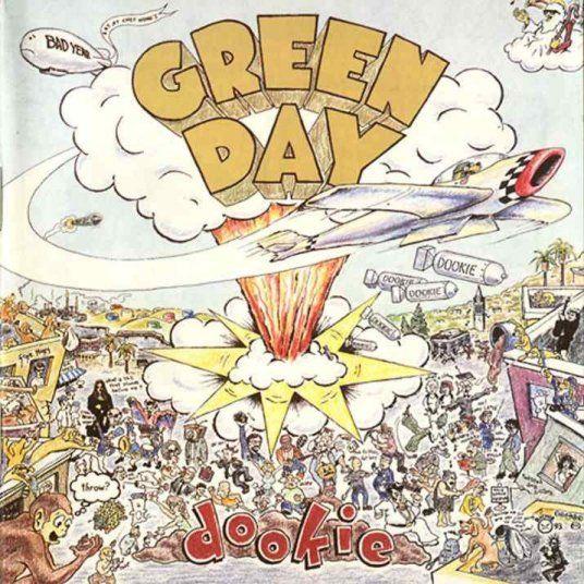 Dookie - Green Day: Album Covers, Band, Dooki 1994, Comic Books, Greenday, Music Album, 90S, Favorite Album, Green Day