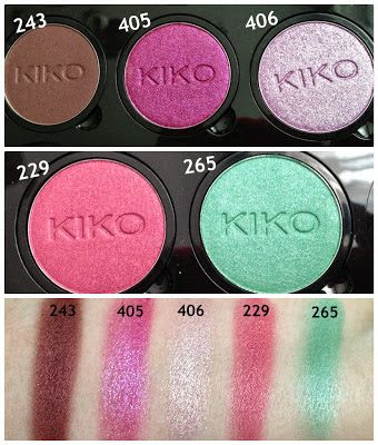 Review : KIKO Infinity Eyeshadow Palette CLICS System