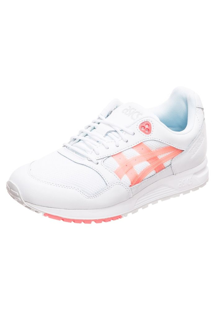 ASICS SportStyle Sneaker 'Gelsaga' Damen, Weiß / Pfirsich ...