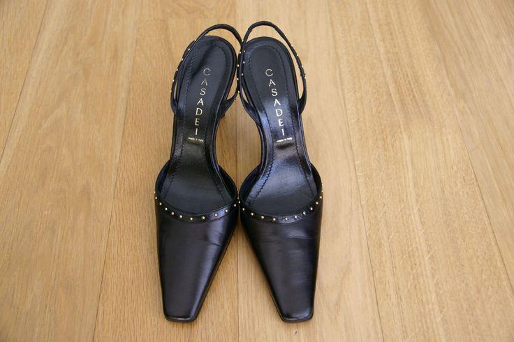 Casadei черный парень с шипами sligngbacks eu 37 7 сша | Одежда, обувь и аксессуары, Женская обувь, Обувь на каблуке | eBay!