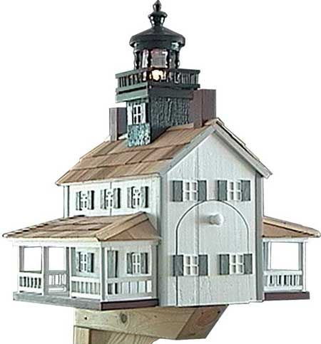 Very popular in coastal towns, light house mailboxes provide that beacon of ...  front-porch-ideas-and-more.com