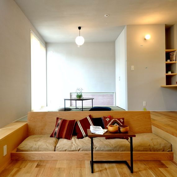 CODE10 ゆっくりごろごろを楽しむ家 | 熊本の平屋、注文住宅|ホームパーティ|HOMEPARTY