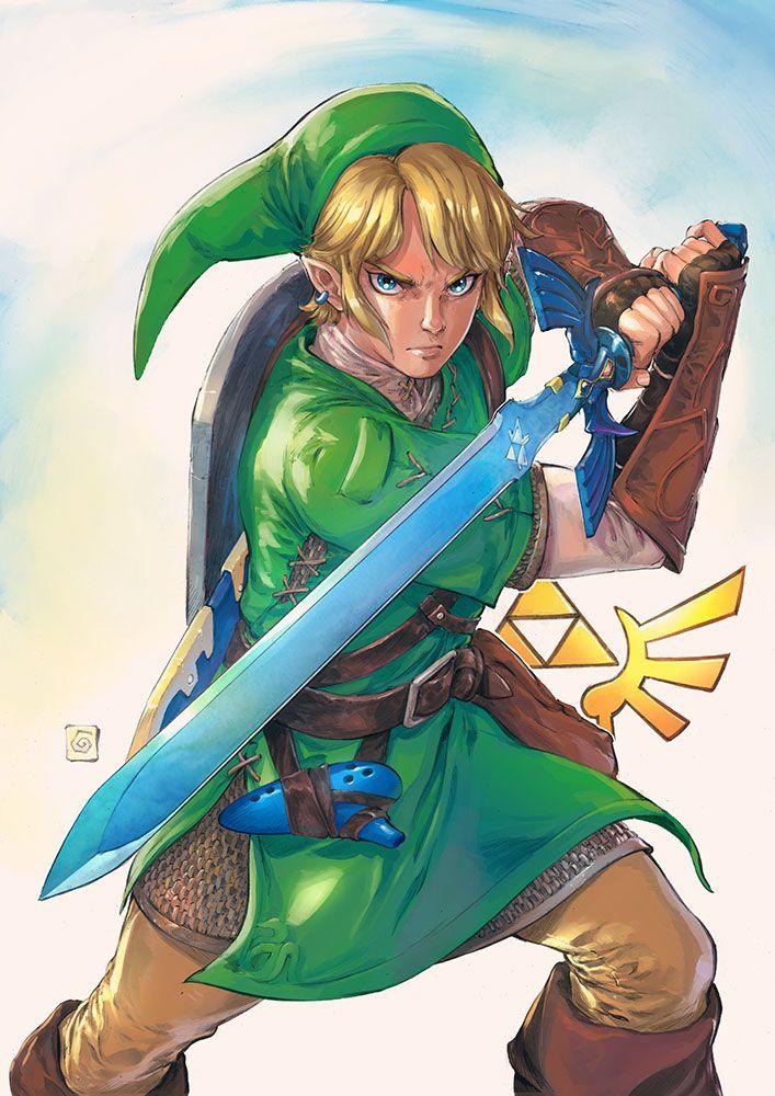 The Legend of Zelda by Smolb on DeviantArt