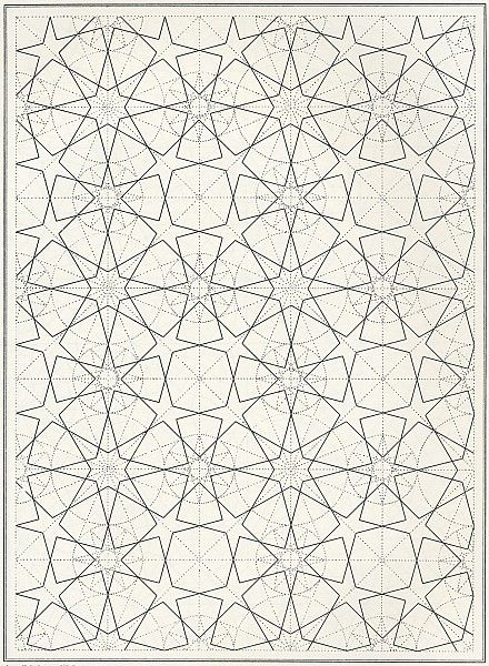 BOU 106 : Les éléments de l'art arabe, Joules Bourgoin | Pattern in Islamic Art