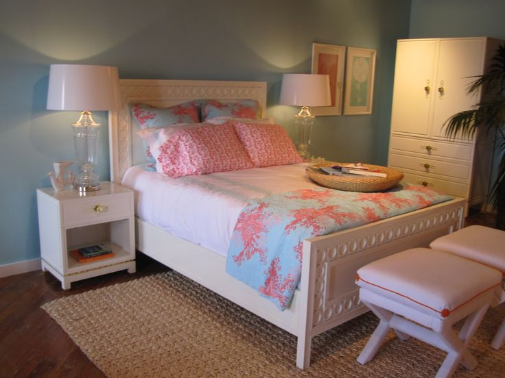Gut Cute Blue And Pink Lilly Room