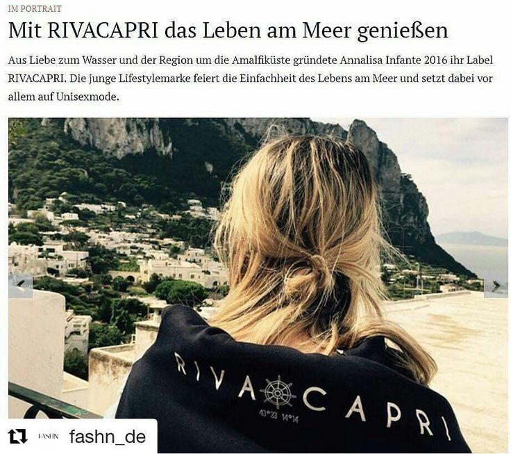 NEWS NEWS NEWS jetzt auch Versand nach Österreich! Whoop Whoop!  Repost von @fashn_de die einen sehr schönen Artikel geschrieben haben ganz ganz herzlichen Dank dafür!  Zum vollständigen Artikel gibt's den Link in der Bio !  #tbt das Bild ist 2016 auf #Capri entstanden!