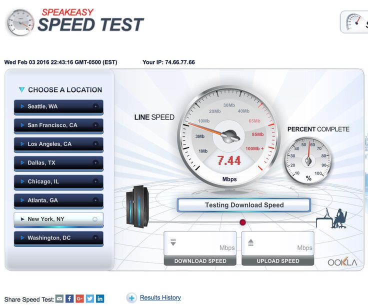 Several online tests can help you check the speed of your Internet connection, but be aware of conditions that may affect your results.