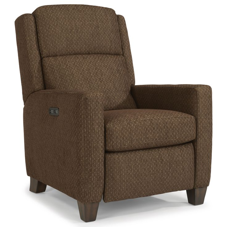 Accents Power High Leg Recliner With Power Headrests By Flexsteel At Conlinu0027s  Furniture