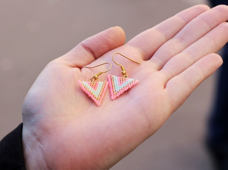 Mes dernieres lubies_boucles d oreille en perles DIY