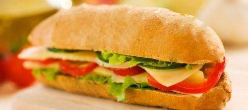 #sandwich #queso #lechuga #tomate