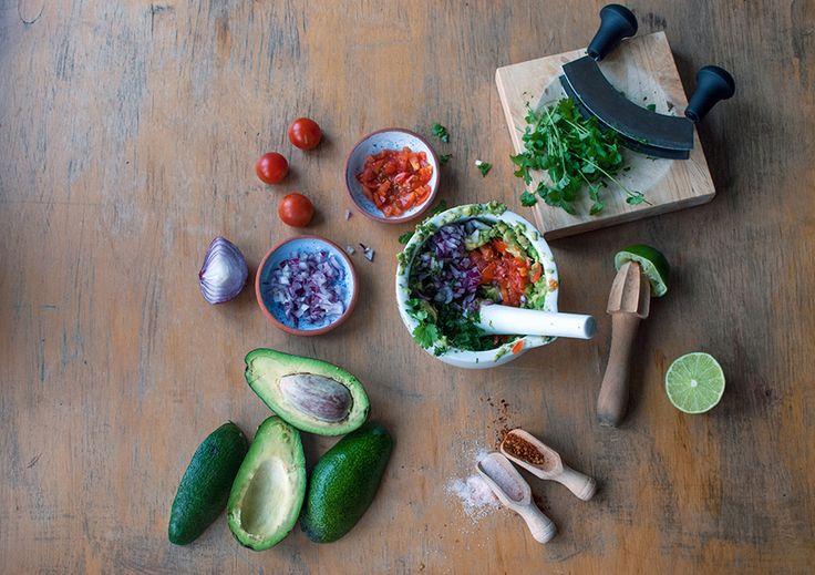 Dine & Dash: guacamole and homemade nachos
