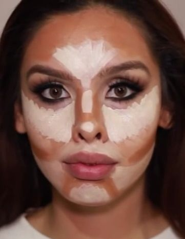 oval face contour// kkyliewisee