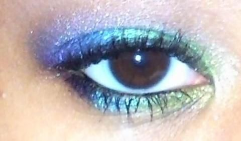 i was playing around with my makeup and this is the look i came up with. hope u repin it! if u want to know what ALL DRUGSTORE products i used just keep clicking the photo=) enjoy!: Beautiful Colors