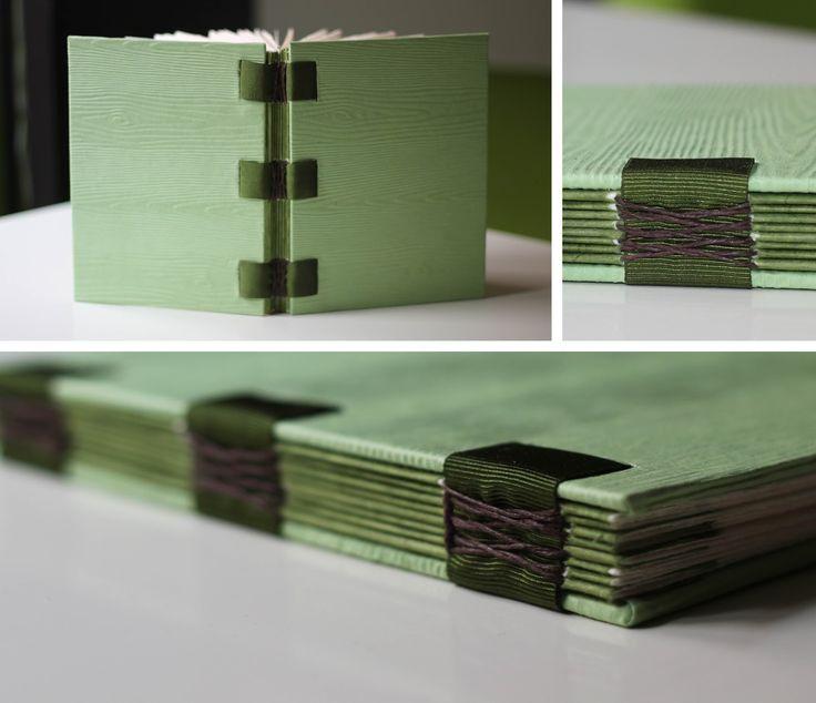 French link stitch bookbinding relligat: encuadernación y diseño