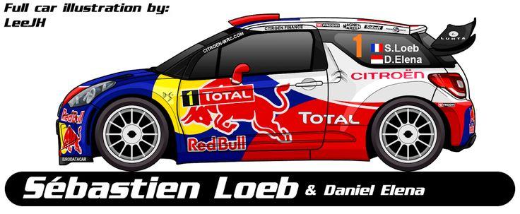 WRC | CITROEN | #1 | Sébastien Loeb - Daniel Elena ( All )