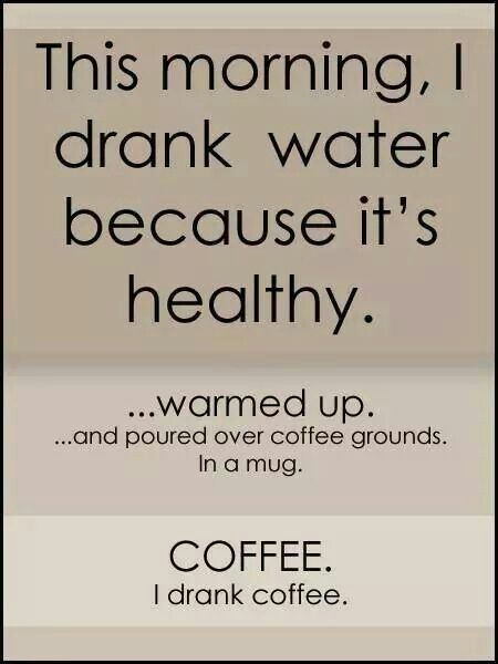 signs of a coffee addict.