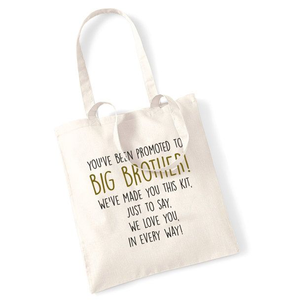 Big brother survival kit tote bag promoted we love by FloxCreative