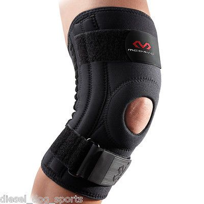 Orthotics Braces and Sleeves: Mcdavid 421R Knee Brace W/ Lateral Stays Level 2 Support -> BUY IT NOW ONLY: $33.99 on eBay!