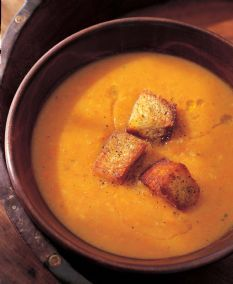 Roasted Vegetable Soup --Ina Garten, Cannot wait to try this soup when the weather gets cold again!!