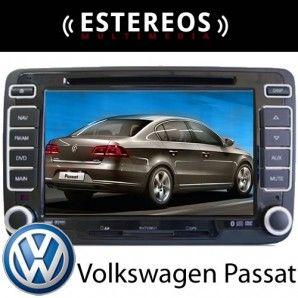 Estereo Multimedia Con Navegador Satelital Volkswagen Passat