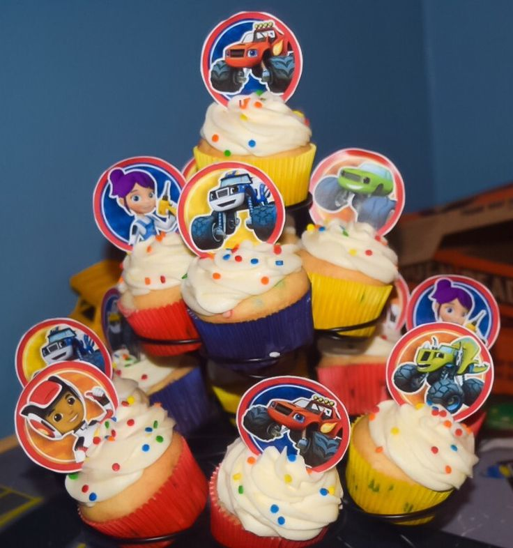 39 Best Images About Blaze 3rd Birthday Party On Pinterest