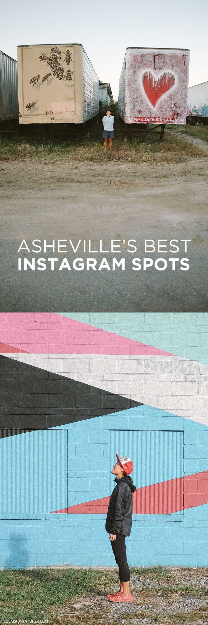 25 Best Instagram Spots in Asheville NC - #14 is my fave! // localadventurer.com