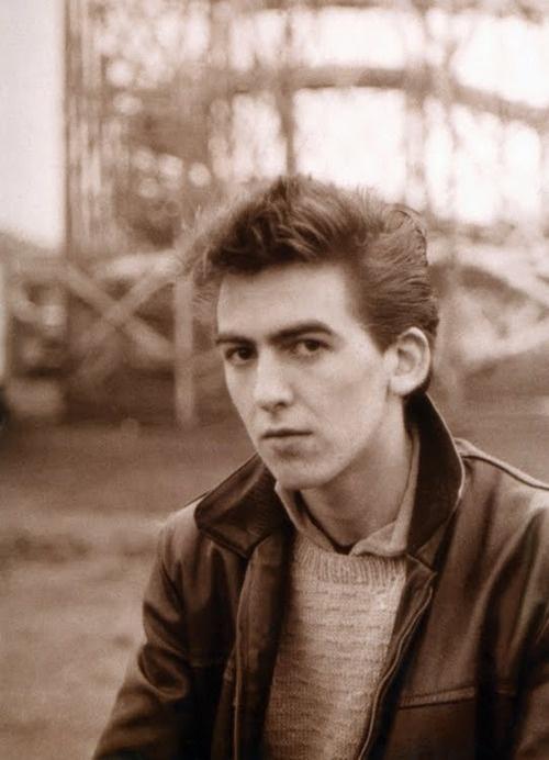 1960 - George Harrison (photo by Astrid Kirchherr).