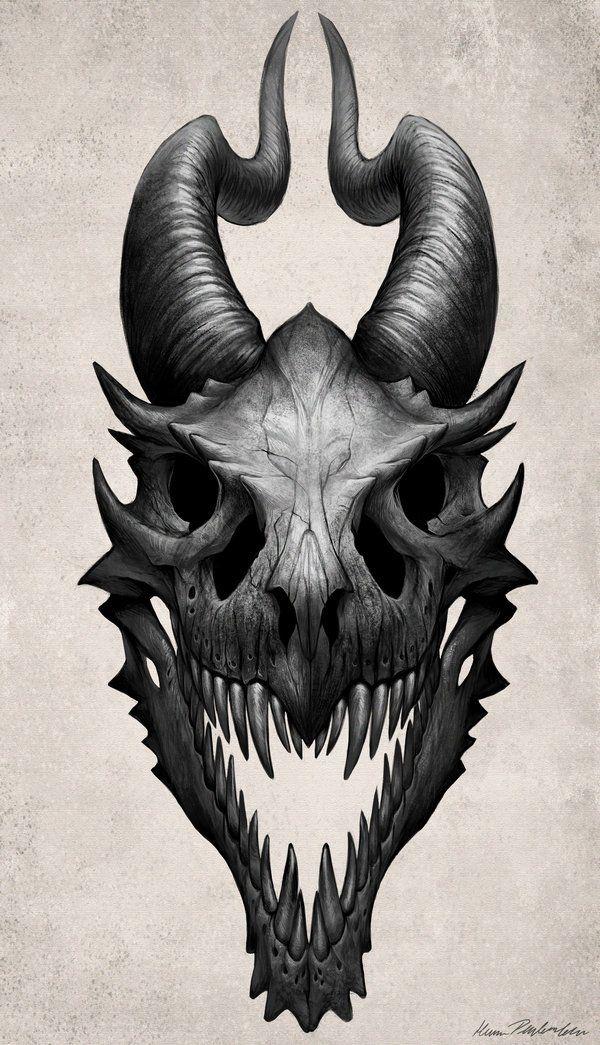 Best 25 Dragon Head Drawing Ideas On Pinterest