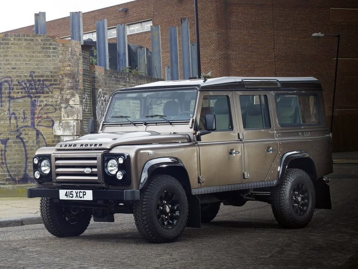 Land Rover Wilmington >> bronze 110 black headlights | Land Rover Defender - Brown | Pinterest | Black headlights, Bronze ...
