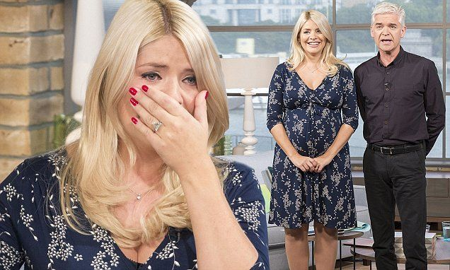 Holly Willoughby breaks down as she presents This Morning