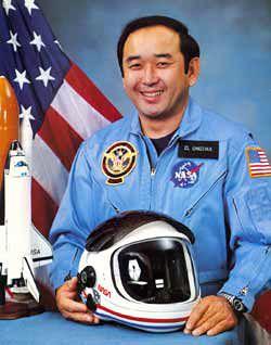 Ellison Onizuka, first AAPI U.S. astronaut, 1985